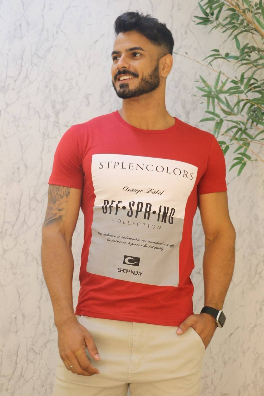 Camiseta T-Shirt Fio 30 Penteado Infinity
