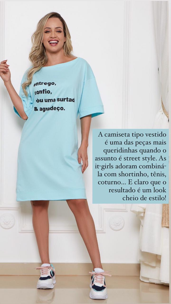 Camisetão Malha Menegotti