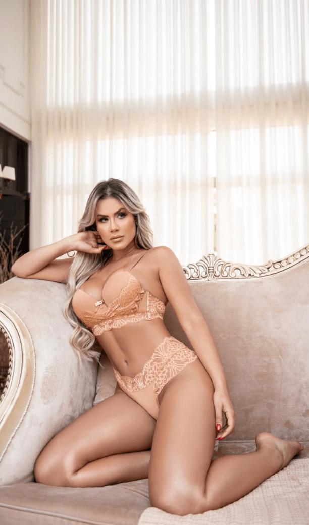 Camisola  de luxo -Itana lingerie