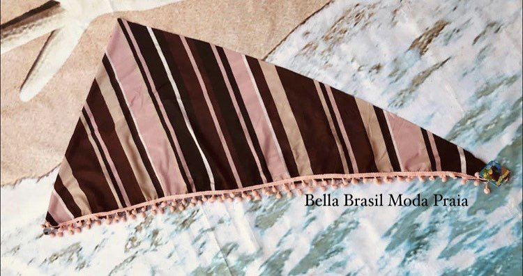 Canga estampada - Bella Brasil Moda Praia