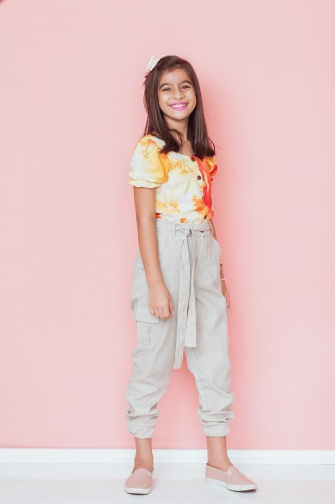 Conjunto calça cargo - Thatá fashion