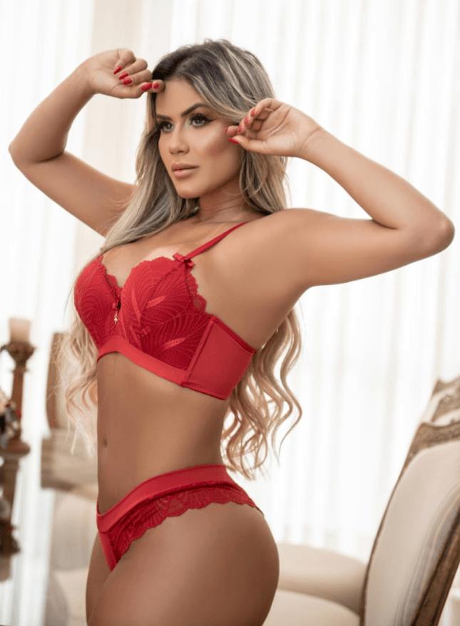 Conjunto de luxo -Itana lingerie
