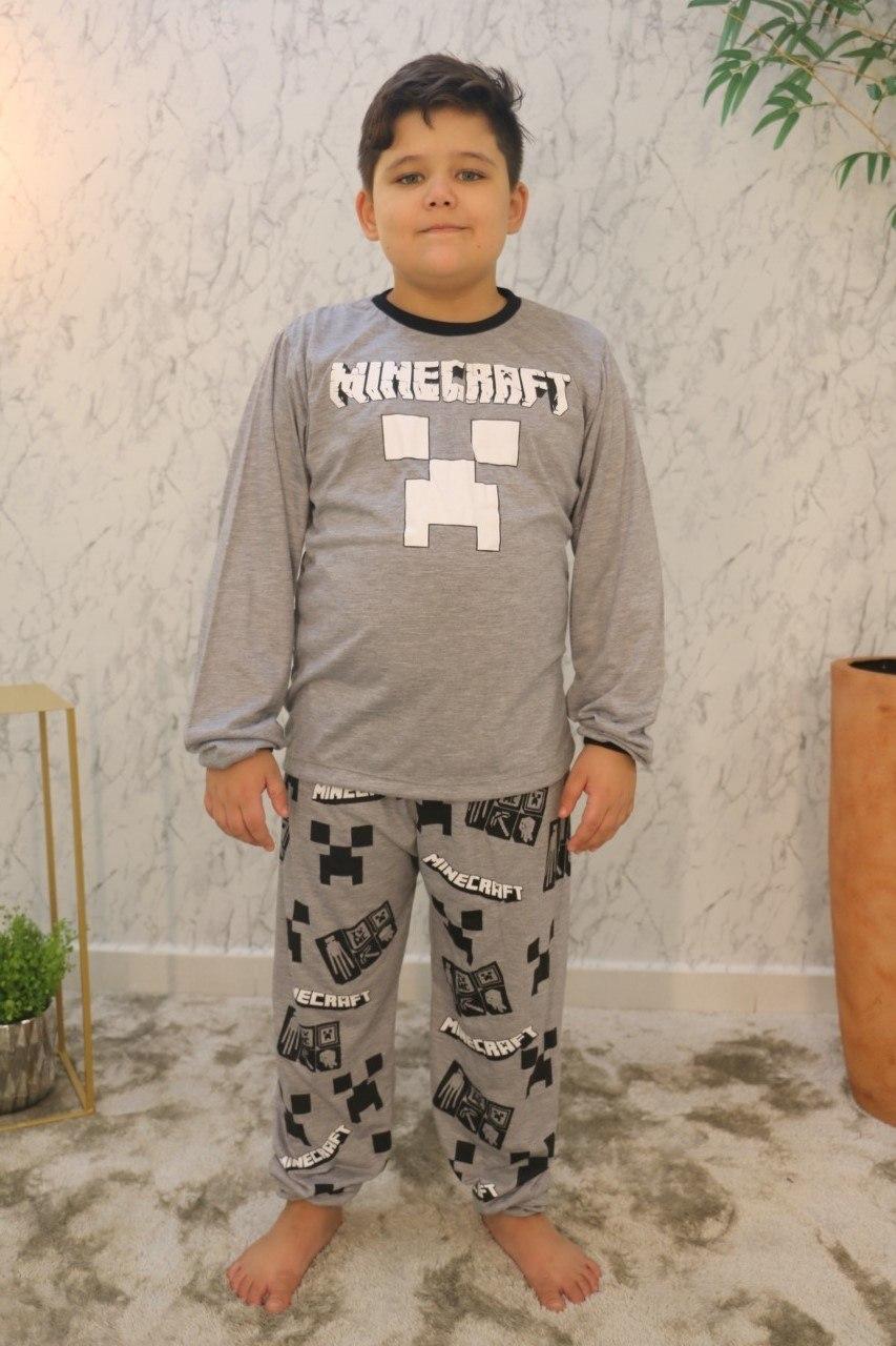 Conjunto Pijama Infantil 100% Poliéster Rool Kids