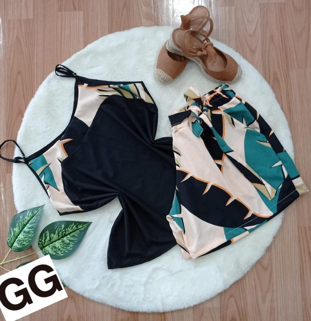 Conjunto Plus Size - Diva Fashion GYN
