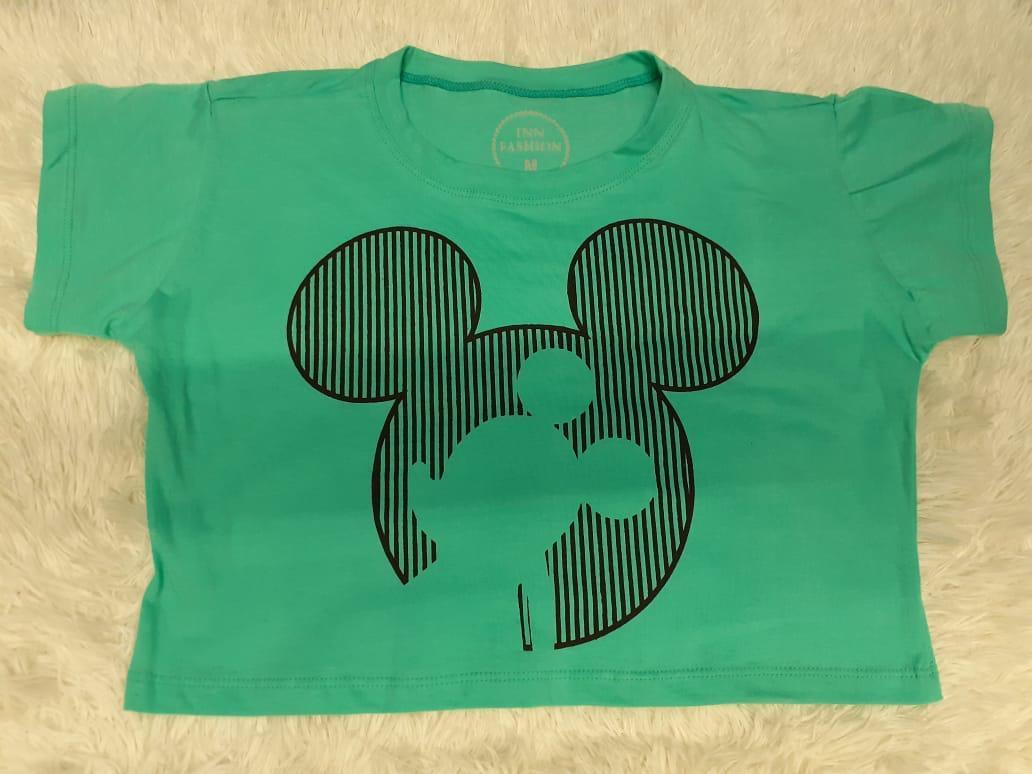 Cropped Mickey Desenhado