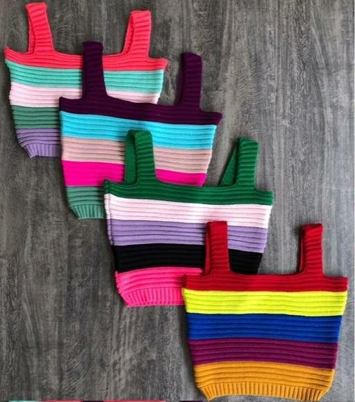 Blusa Cropped Colorido Paris Multimarcas