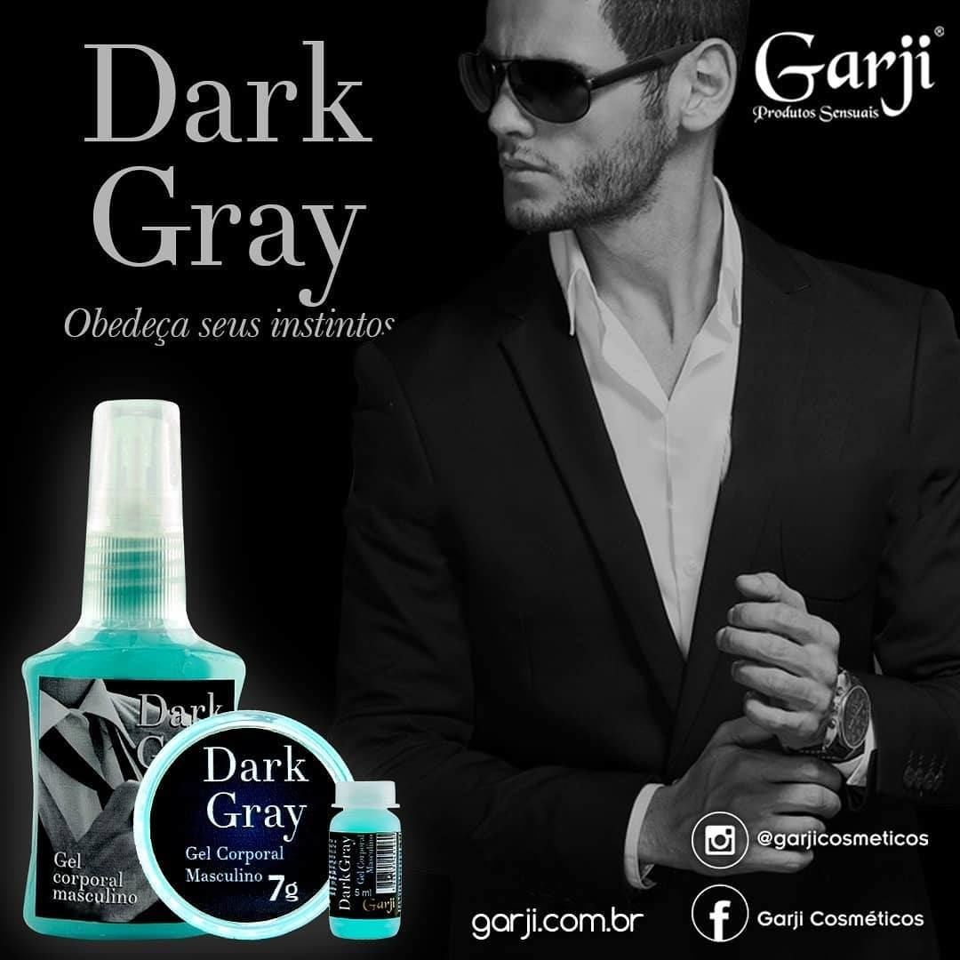 DARK GRAY GEL CORPORAL MASCULINO 35ML GARJI - 366