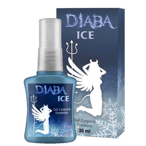 DIABA ICE GEL EXCITANTE FEMININO ESFRIA EM SPRAY GARJI - 612