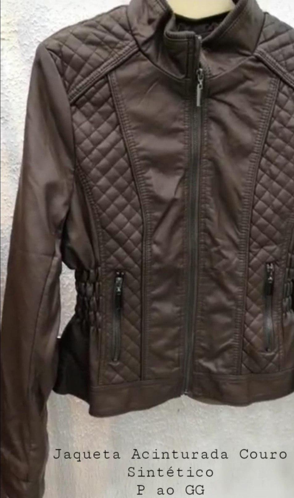 Jaqueta Luxo Acinturada