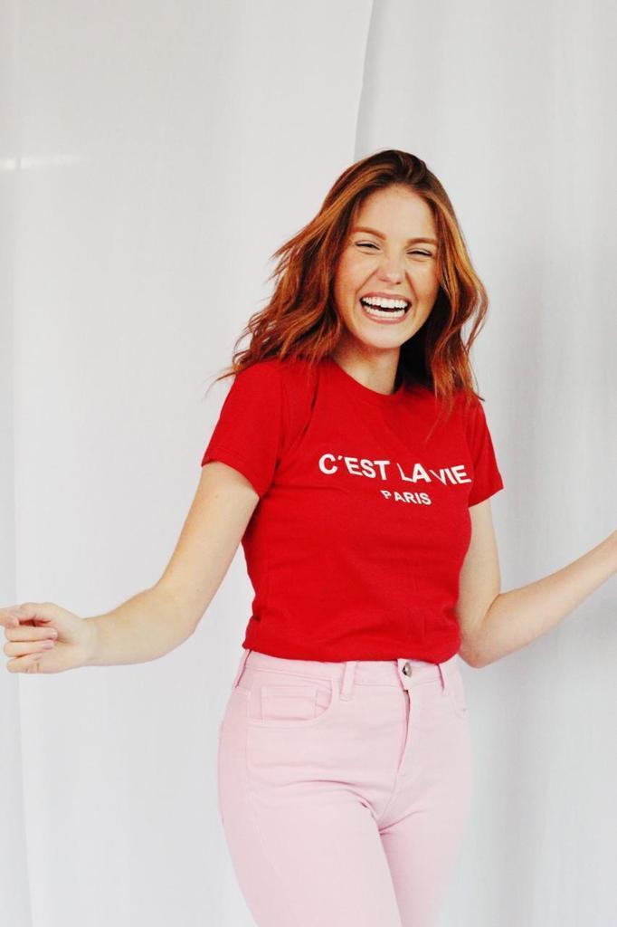 Kit 6 Blusas T-Shirts Estampa C'est Soberanika