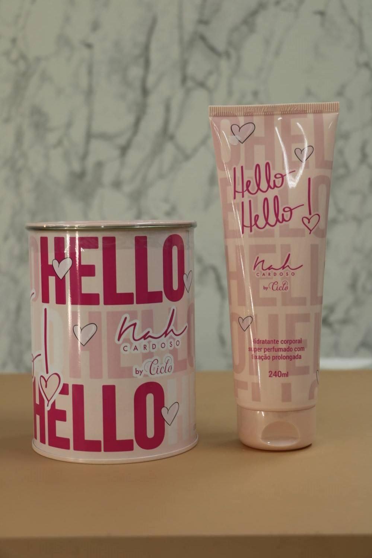 Kit Perfume com Hidratante Hello Hello By Nah Cardoso Mercadão das Maquiagens