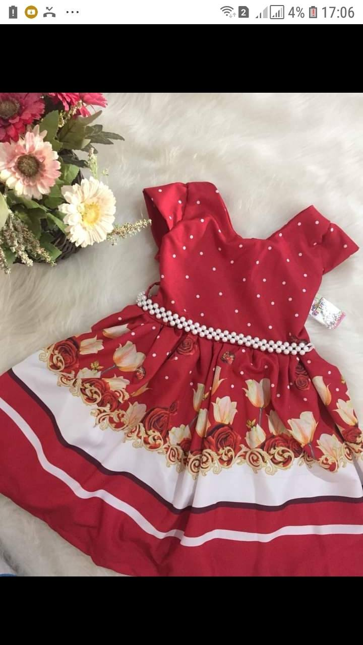 Larissa Fashion Kids- vestidos infantil