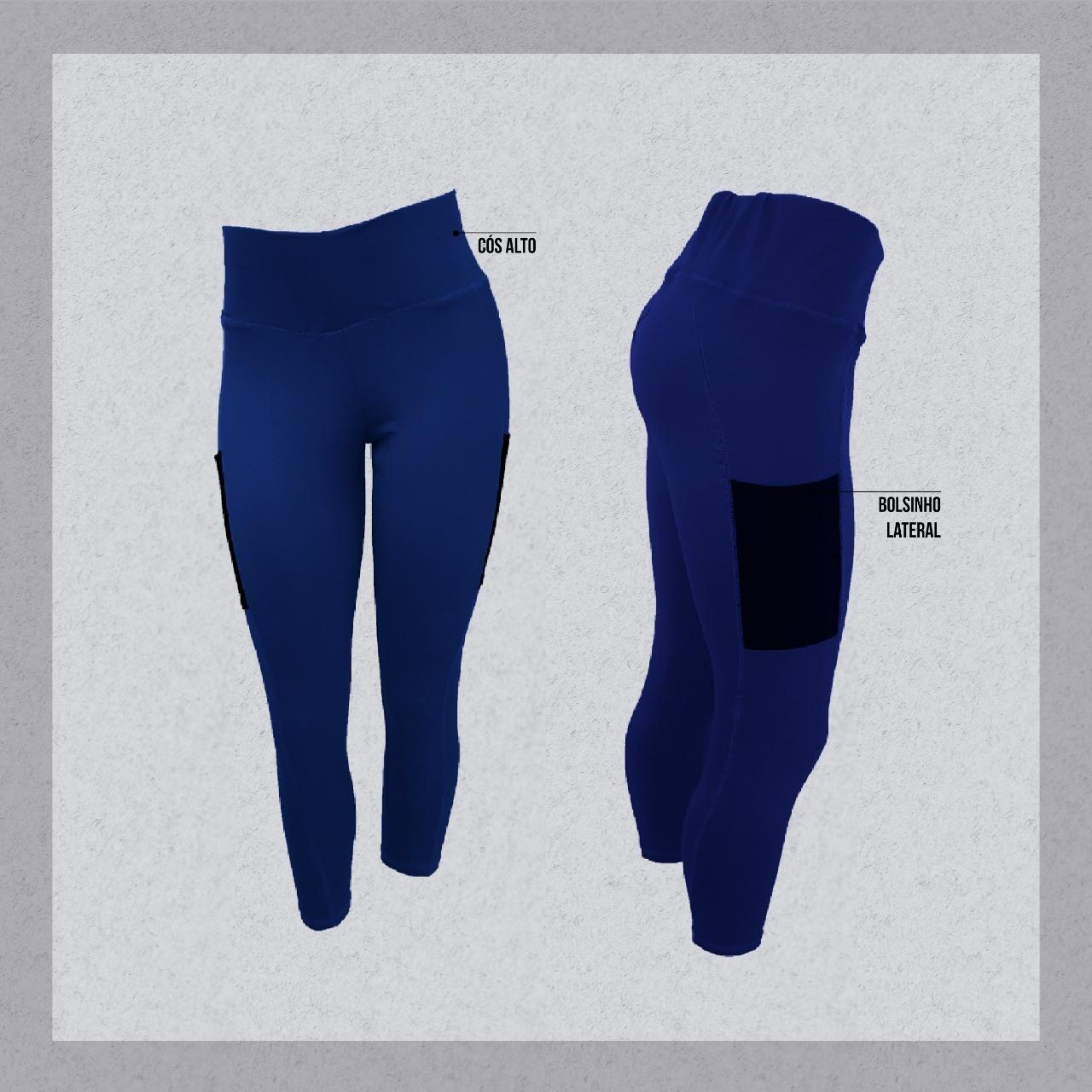 legging corsário bolso - My Body