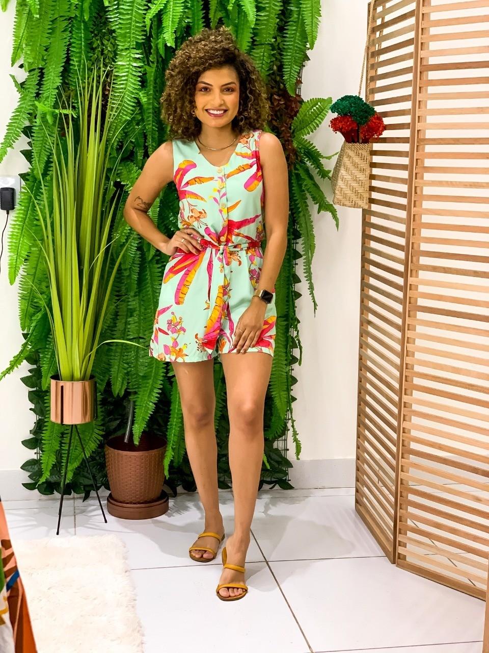 Macaquinho - Pitanga Doce Moda Feminina