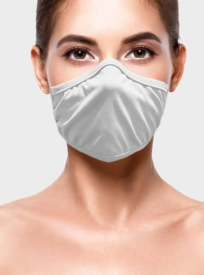 Máscara de proteção ADESIVA EM MALHA 100% algodão - INTT