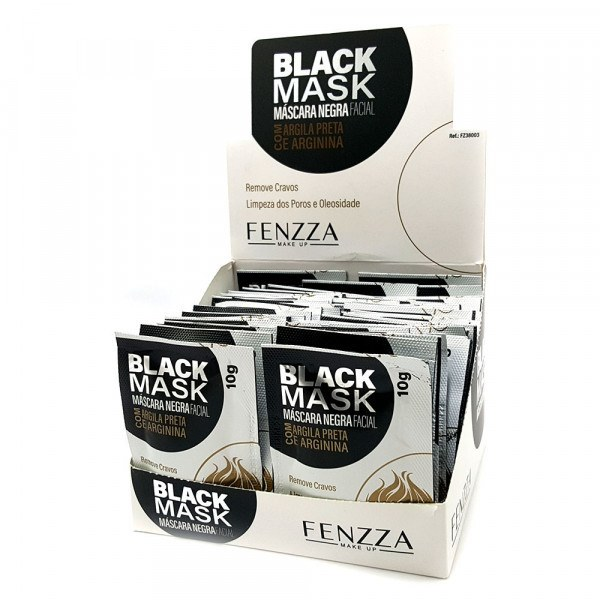 Mascara Facial Black Mask FENZZA FZ38003 - 1/50