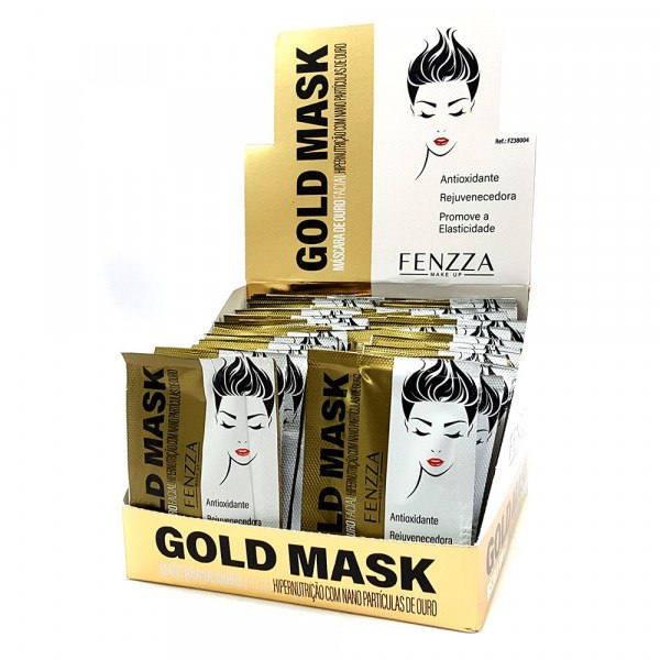 Mascara Facial Gold Mask FENZZA FZ38004 - 1/50