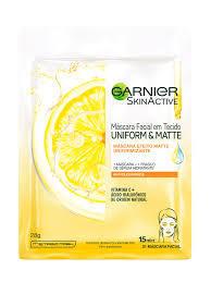 Mascara Facial Uniform E Matte Vitamina C - Garnier - SHOPPING DOS COSMÉTICOS