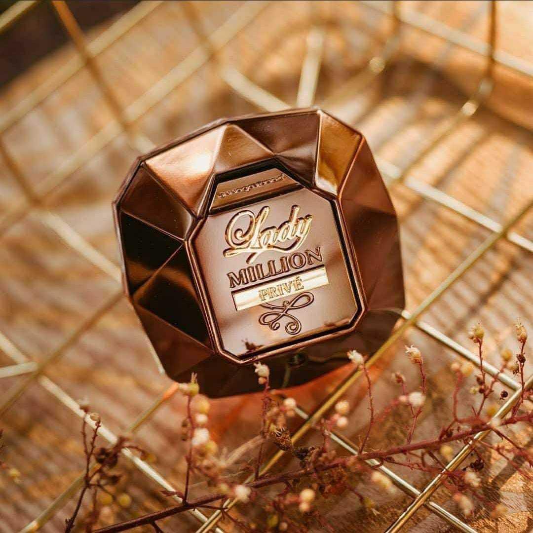 Eau de Parfum Paco Rabanne Lady Million Privé 50 ml MS Cosmético