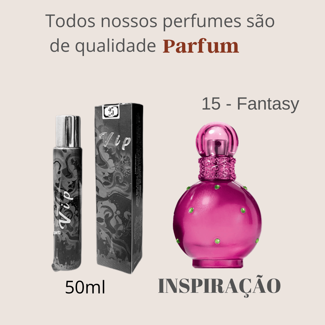 Perfume Inspiração Importado N° 15 50ml Touti Perfumes Parfum