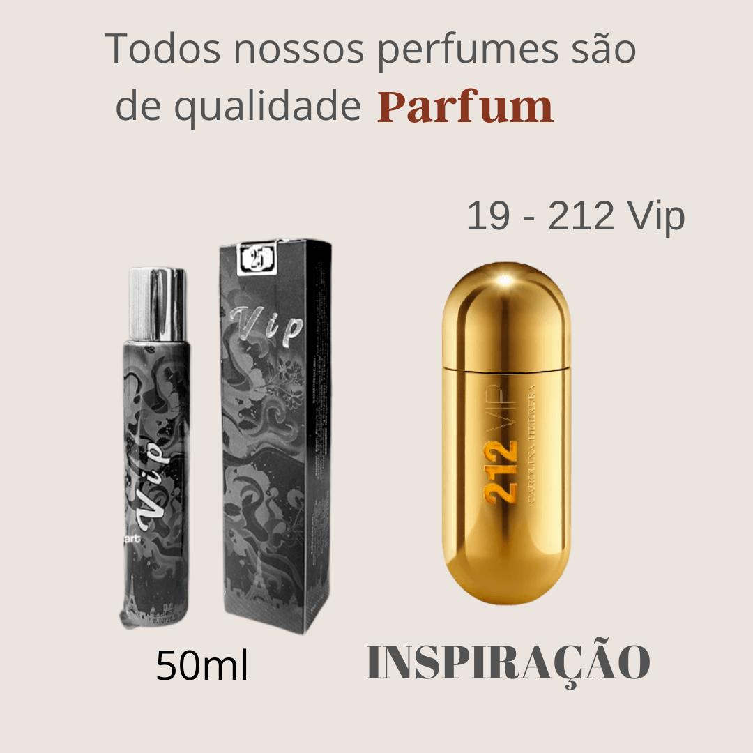 Perfume Inspiração Importado N° 19 50ml Touti Perfumes Parfum