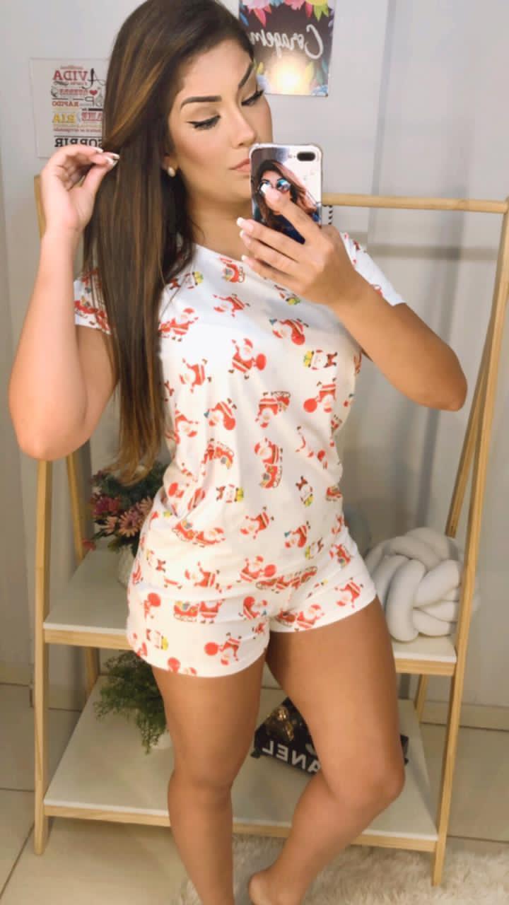 Pijama curto - Xerrí Moda Íntima