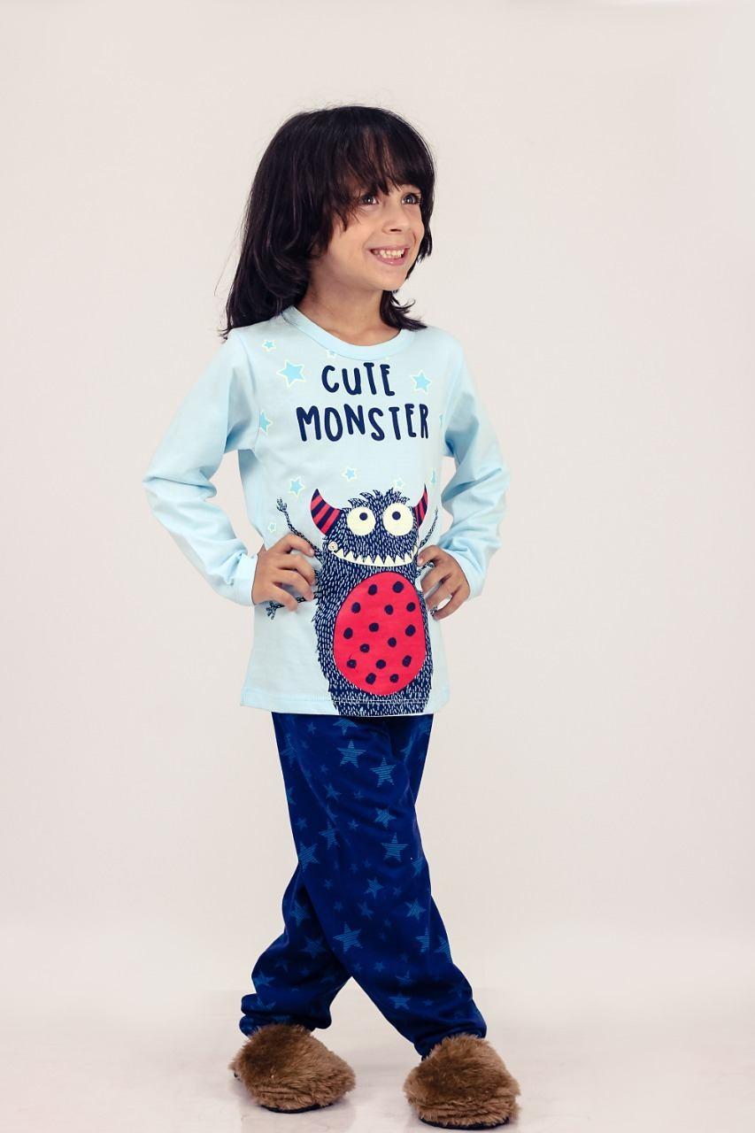 Pijama Little Monster - PIJAMAS UPA CAVALINHO