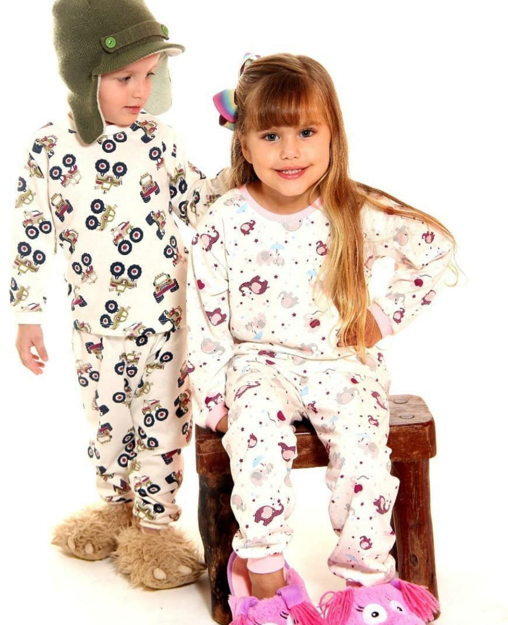 Pijama Longo- Laju Kids