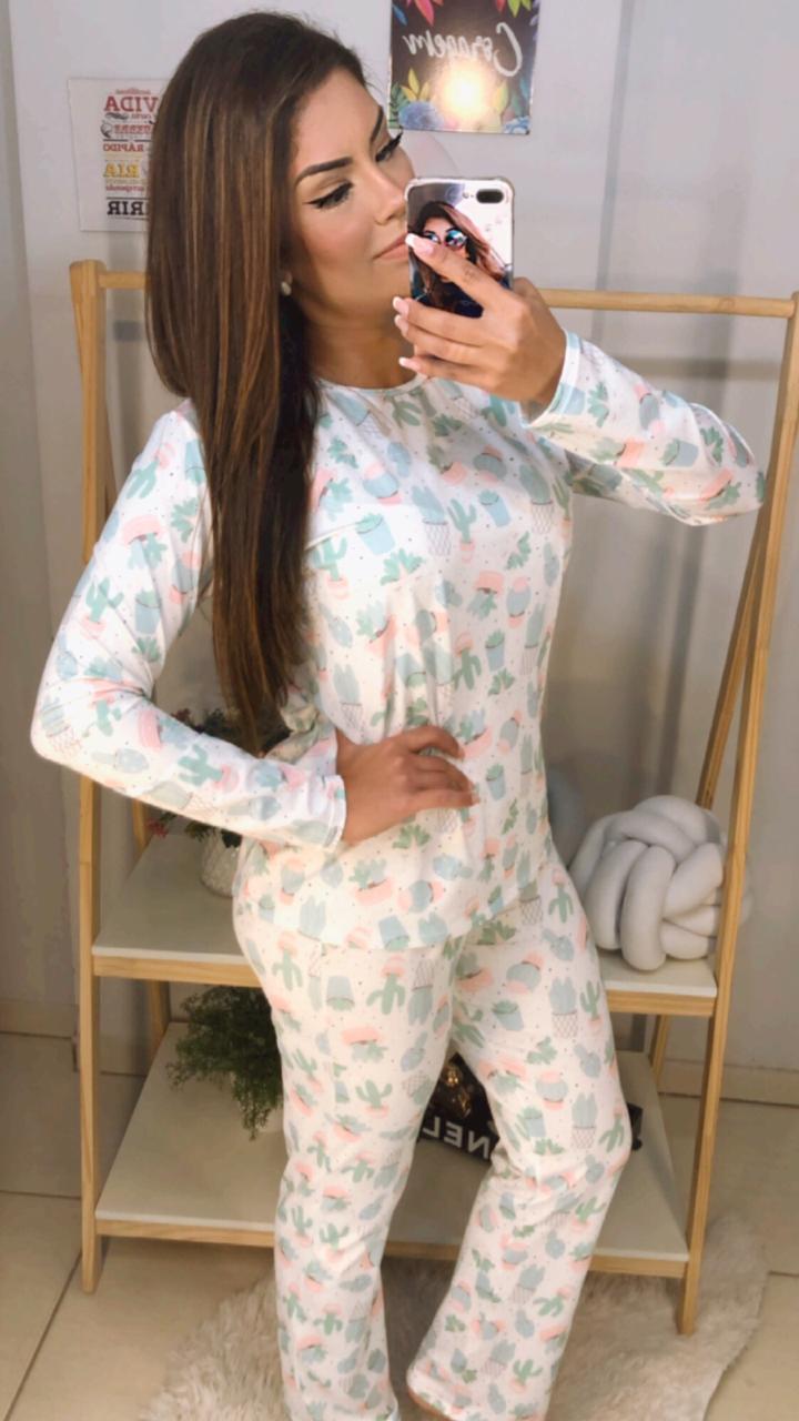 Pijama Longo - Xerrí Moda Íntima