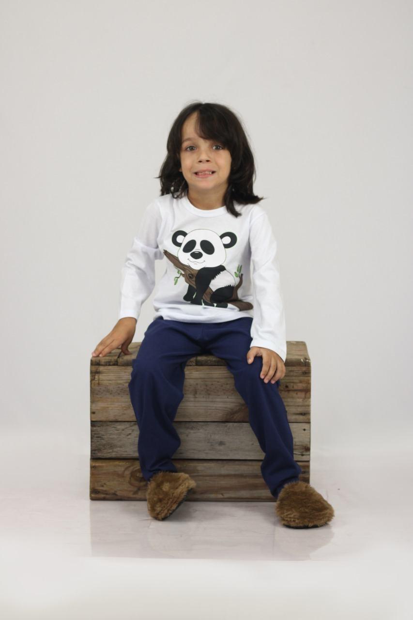 Pijama Urso Panda - PIJAMAS UPA CAVALINHO