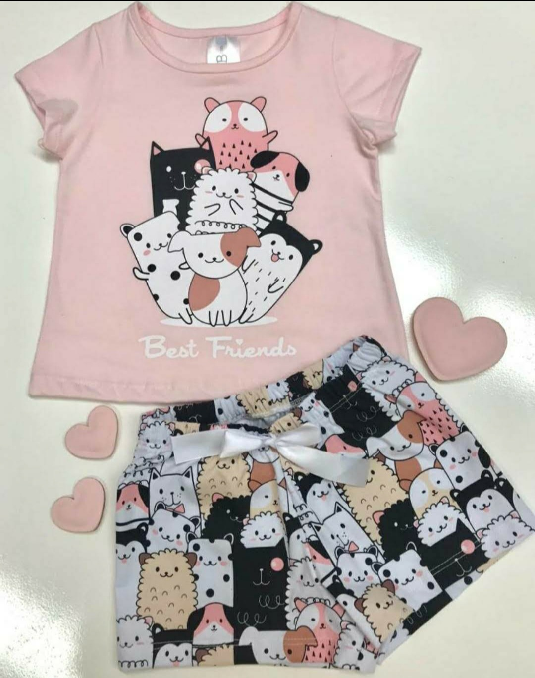 Pijamas femininos estampados - CRUSH KIDS