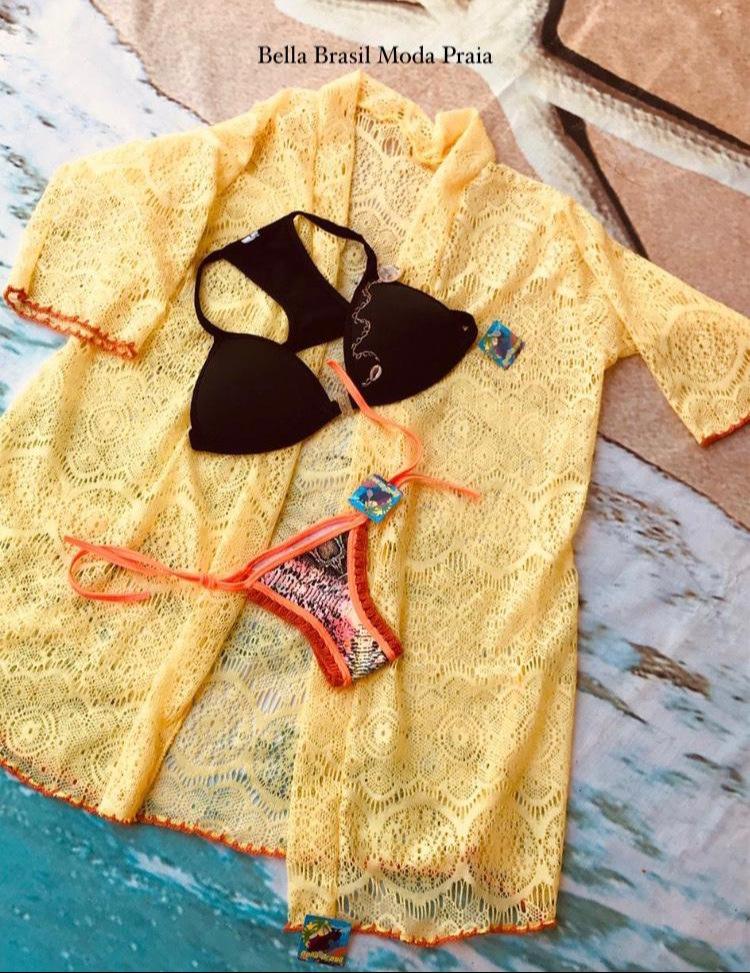 Saída kimono - Bella Brasil Moda Praia