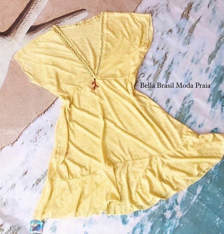 Saída vestido - Bella Brasil Moda Praia