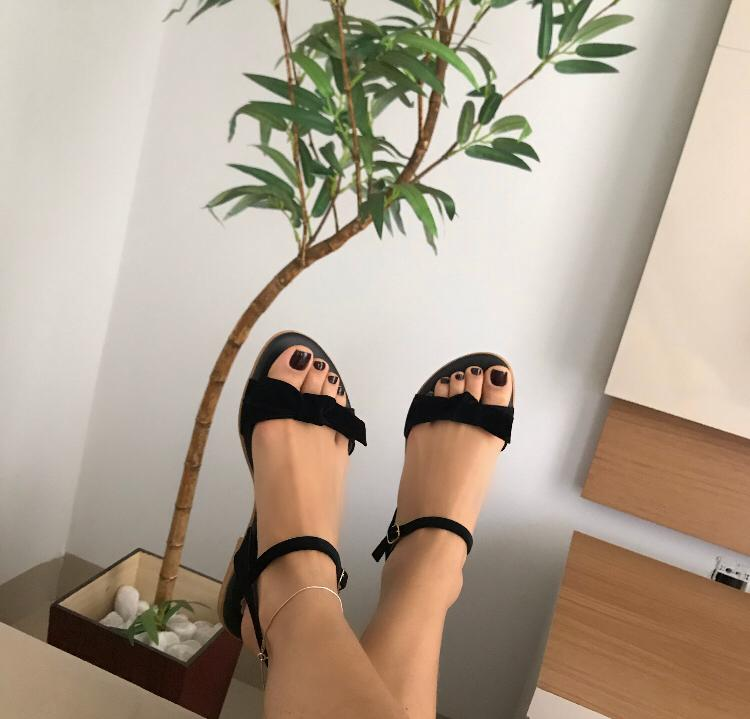 sandalia rasteira ayla -avelle
