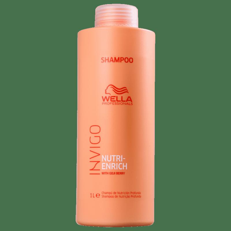 Shampoo 1000ml Enrich Invigo - Wella Profissional - SHOPPING DOS COSMÉTICOS