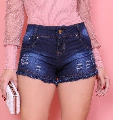 Short barra dupla Zafira jeans
