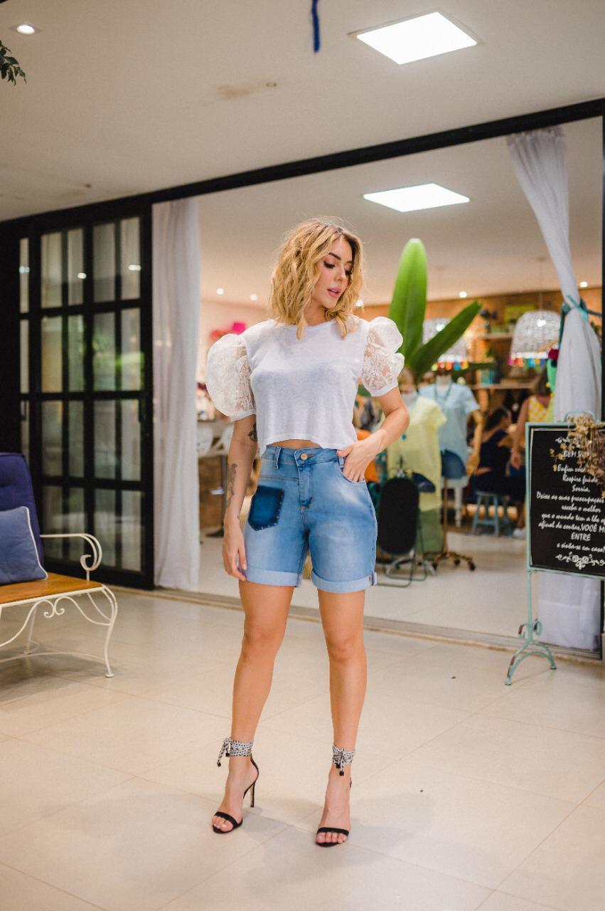 Shorts  femininos vaibe jeans