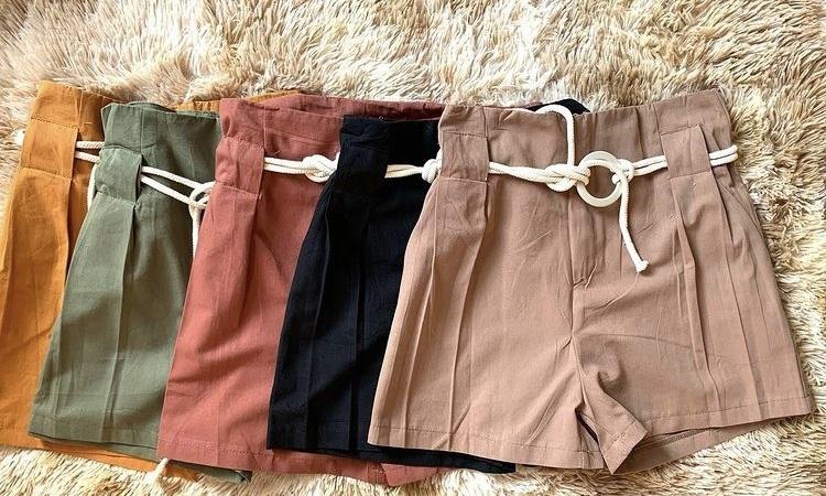 Shorts Viscose - Ponto Justo