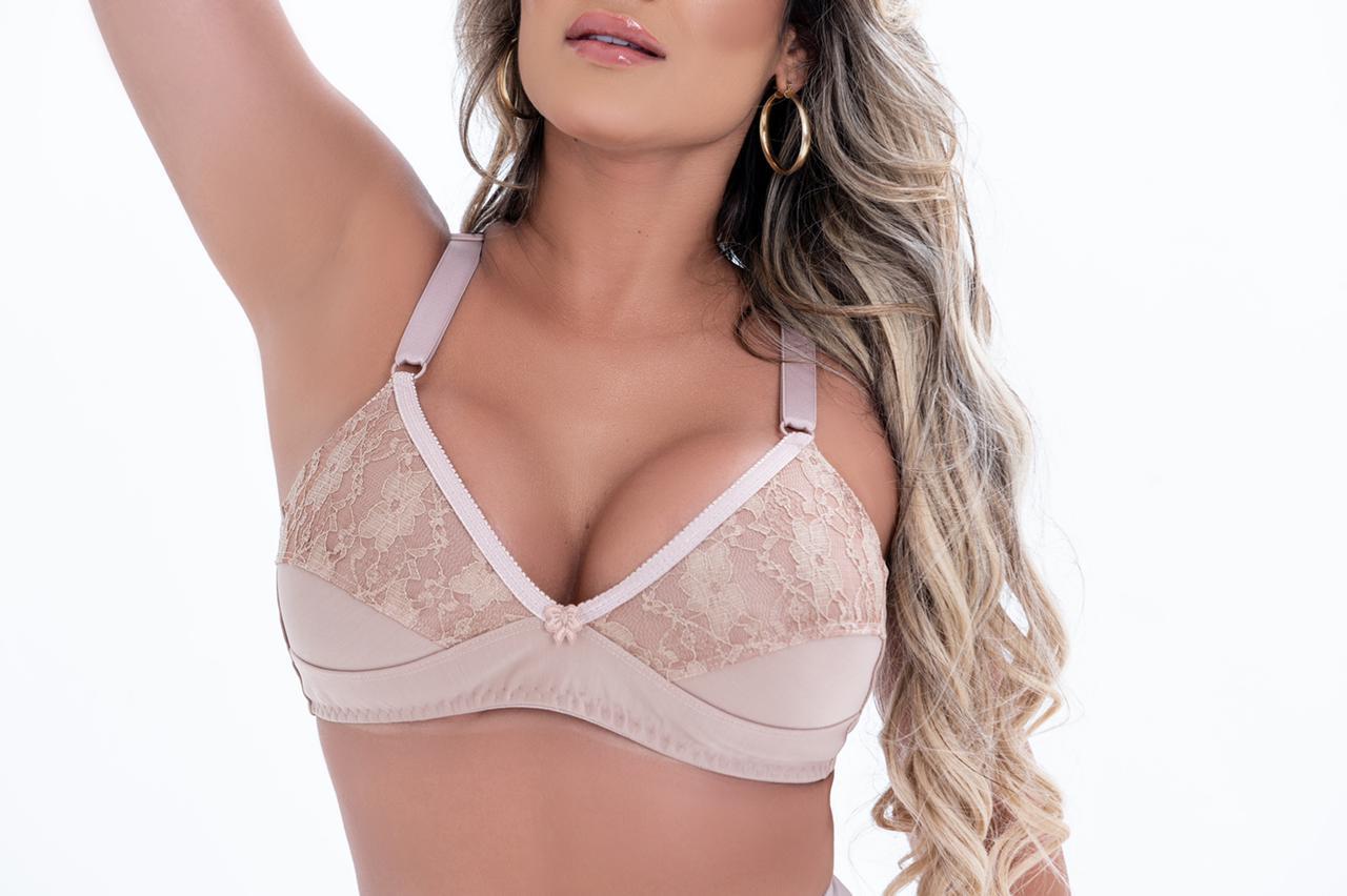 Sutiã Reforçado Lycra Bella Dona Modeladores