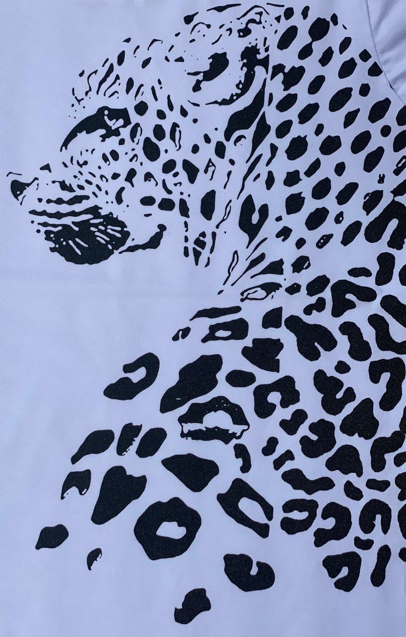 T-shirt Onça Maria Rosê