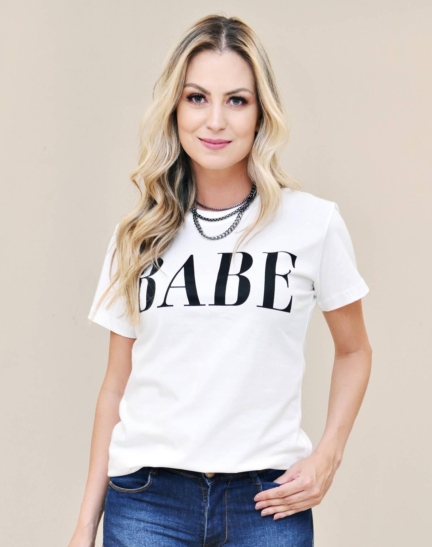 T-shirt Babe Nathalie Ferrier