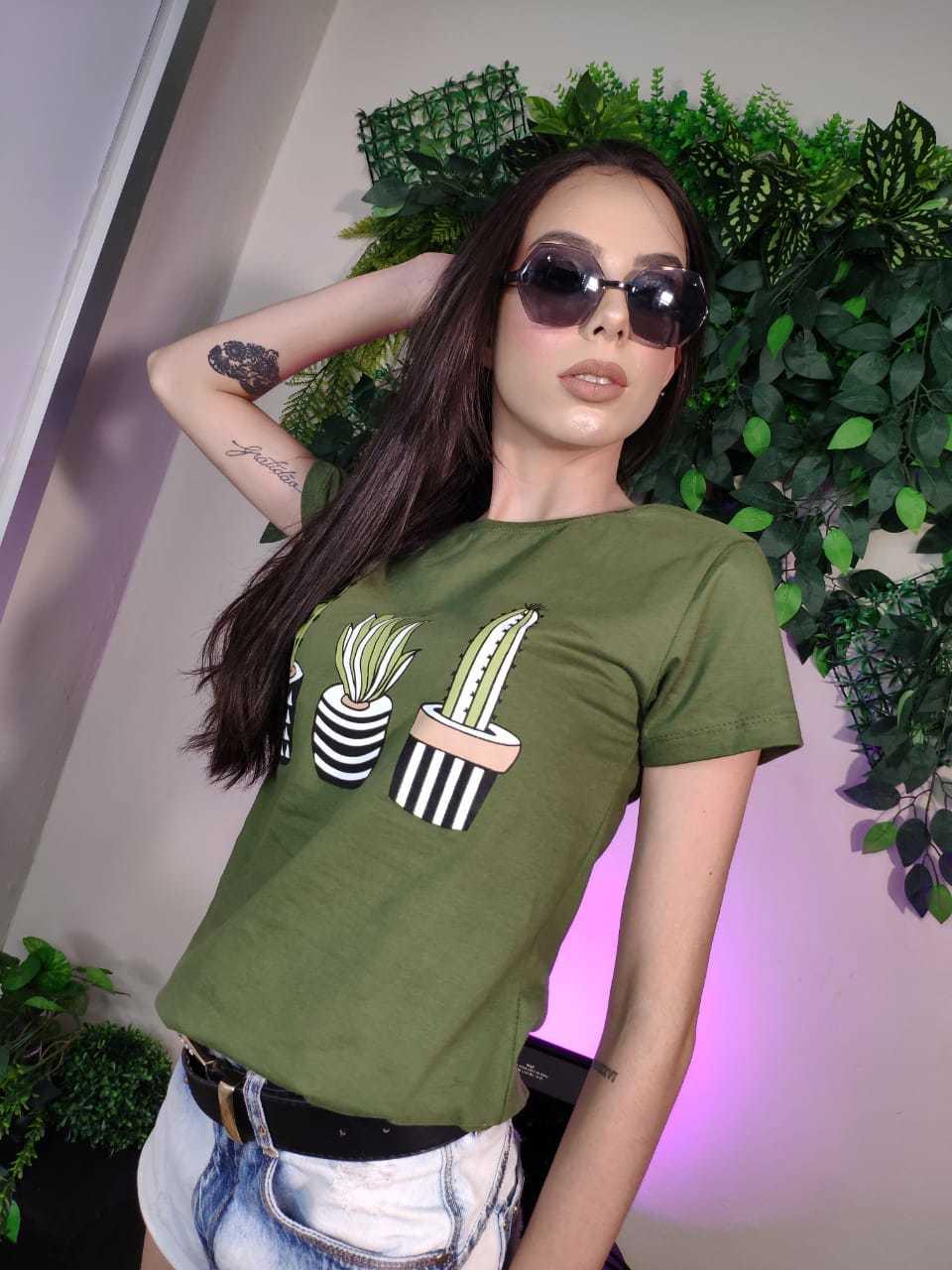 T-shirt - Dacapo moda feminina