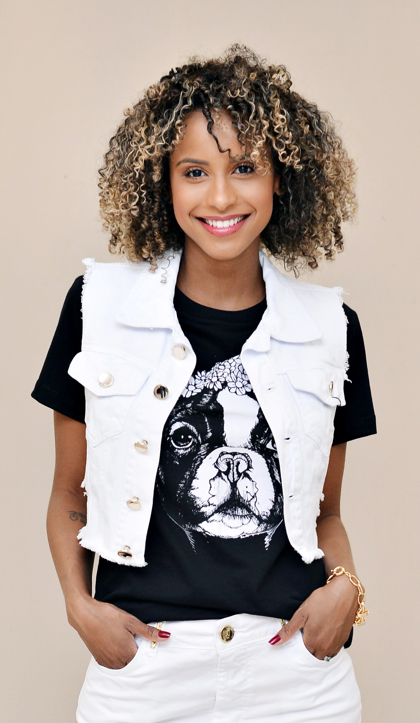 T-SHIRT DOG - NATHALIE FERRIER