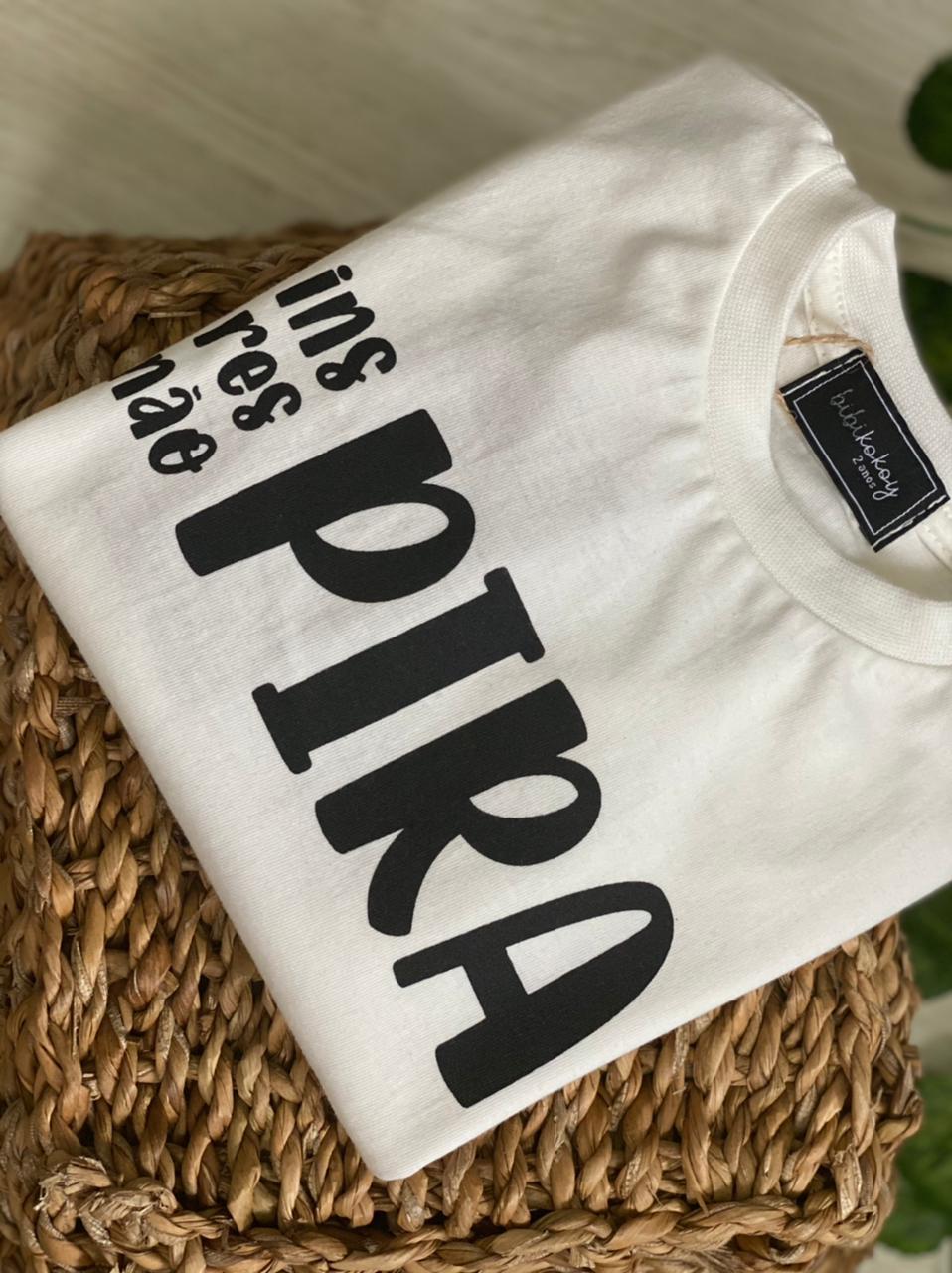 T-shirt inspira nao pira - PIJAMAS UPA CAVALINHO