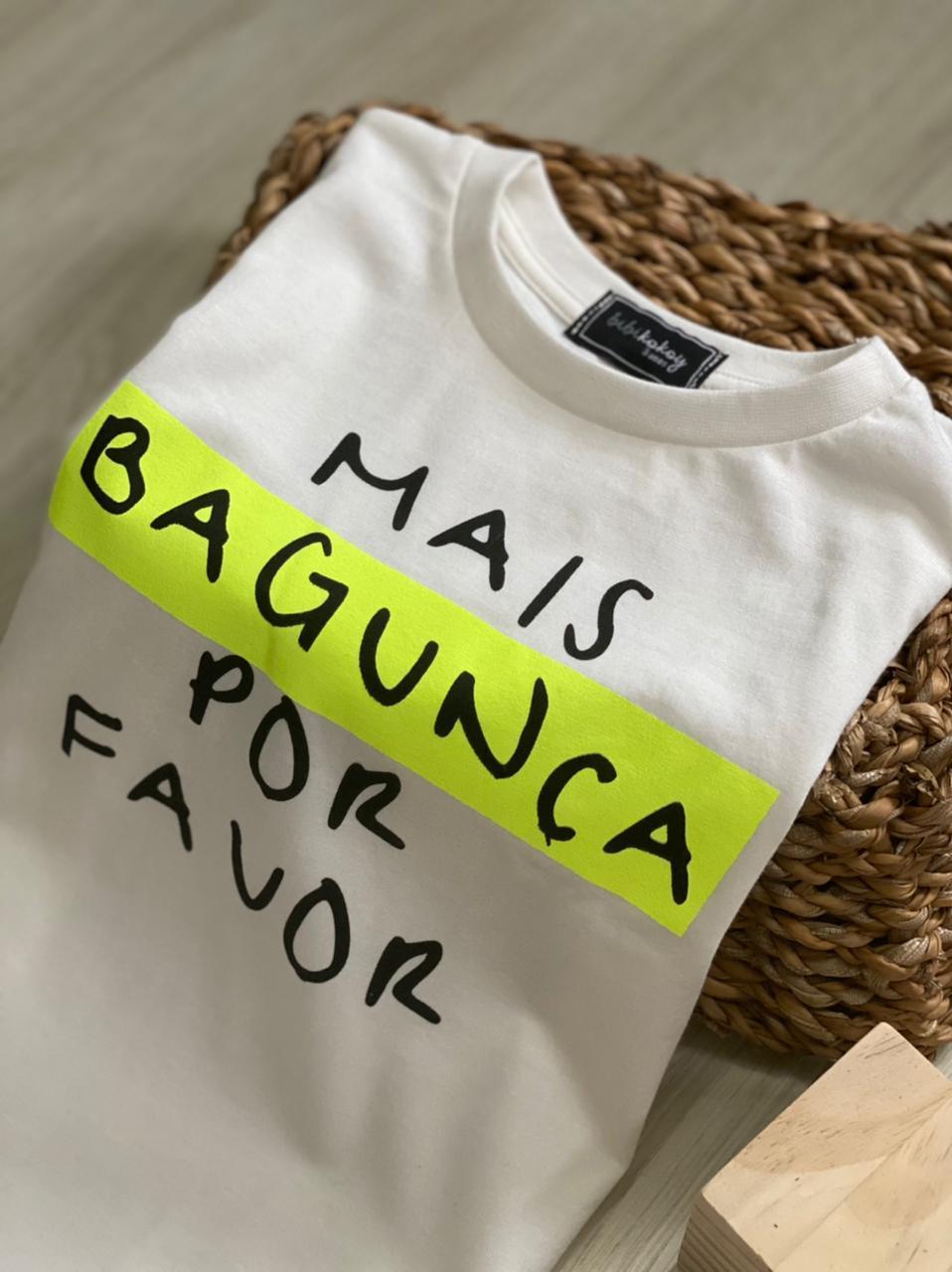 T-shirt Mais bagunça PF  - Pijamas upa cavalinho