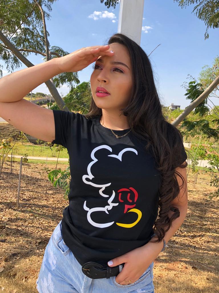 T-shirt Mickey - Trielas Tshirteria