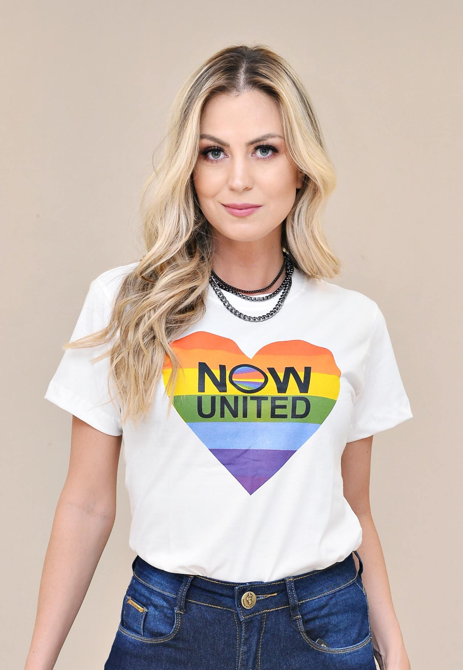 T-SHIRT NOW UNITED - NATHALIE FERRIER