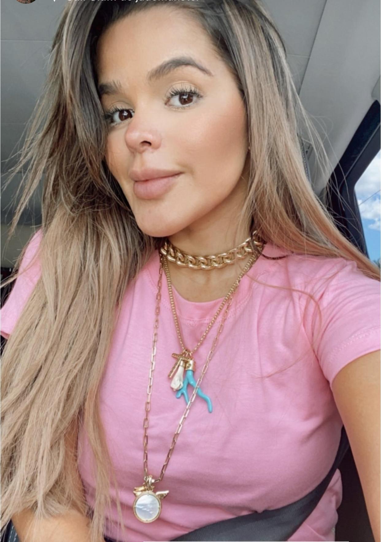 T-shirt Rosa Chiclete - Trielas Tshirteria