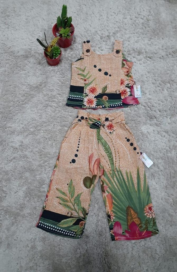 Thatá fashion - Conjunto pantacourt