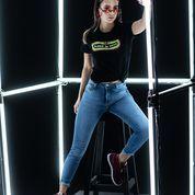 Tshirt feminina e calça jeans Mr.Ocky